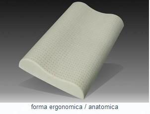 Perna organica Memory-Latex Anatomica