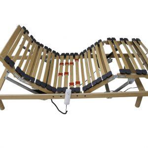 Somiera electrica din lemn