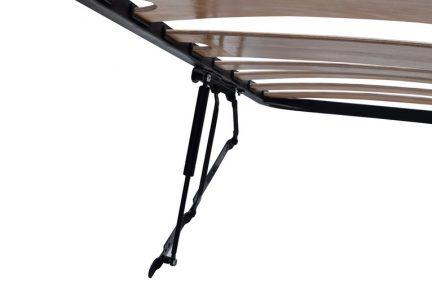 Somiera rabatabila supraponderali, cu lamele late pe mijloc 200 x 180