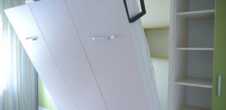 Patul pe perete, pentru un plus de spatiu in interioarele moderne