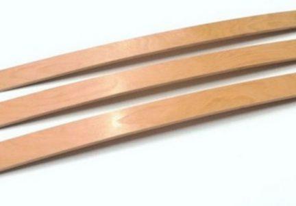 Lamele rezistente somiera de lemn 6,8 x 1.2 cm