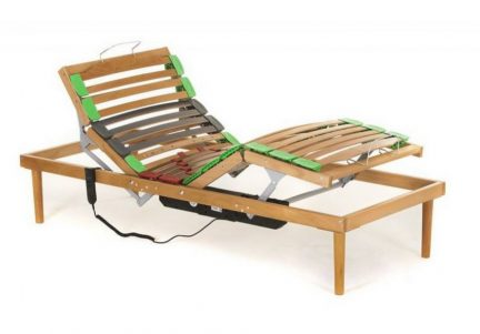 Somiera electrica din lemn RES 1