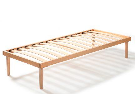 Somiera pentru pat simplu din lemn de fag RUF