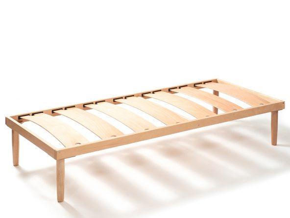 Somiera cu lamele late din lemn – RDLC 1 190 x 100 cm